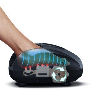 Shiatsu & Air Compression Techniques That Work The Entire Foot!