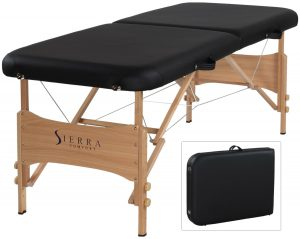 A Massage Table And Nothing More!
