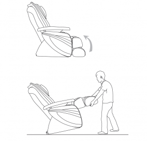 Caster Wheels Make It Very Easy To Move The Chair!