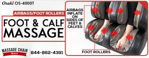 Air Compression Is Not Enough. Kneading Foot Rollers Make A Big Difference!