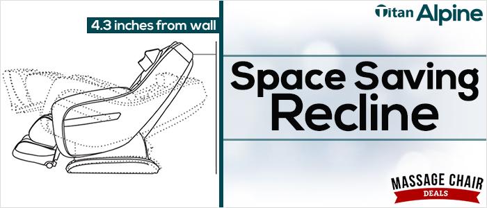Space Saving Recline