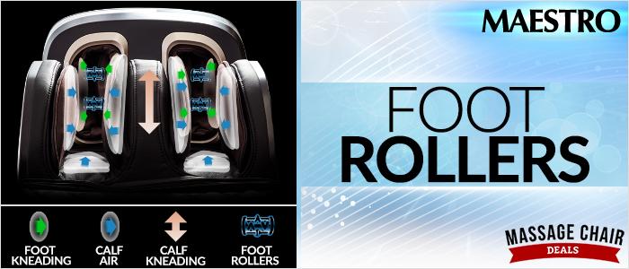 Osaki OS Pro Maestro Foot Rollers
