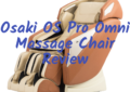 Osaki OS Pro Omni Massage Chair Review