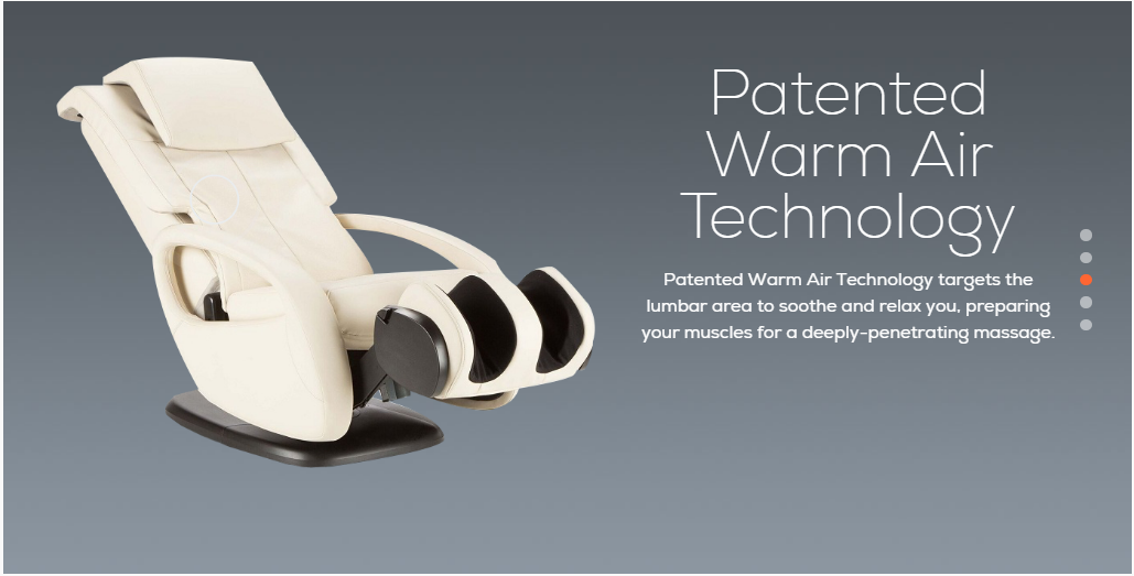 WholeBody 7.1 Warm Air Technology