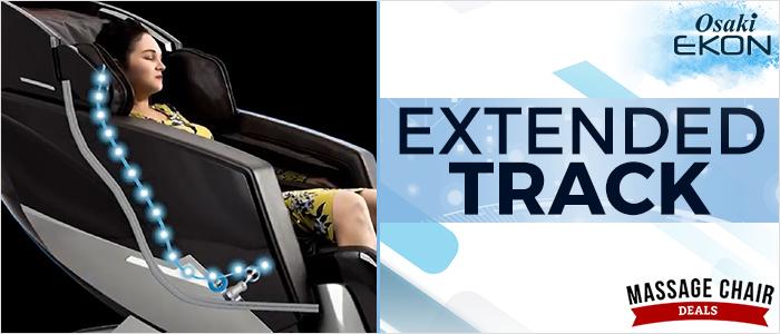 Osaki OS Pro Ekon Massage Chair Extended SL-Track Roller Massage