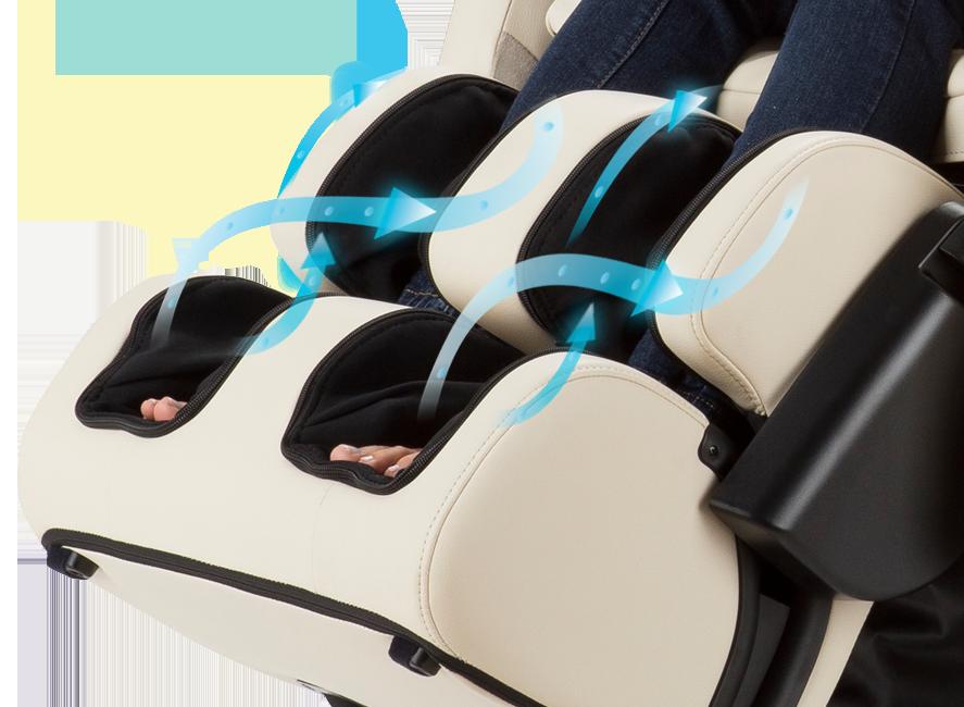 Human Touch ZeroG 5.0 Calf Massage