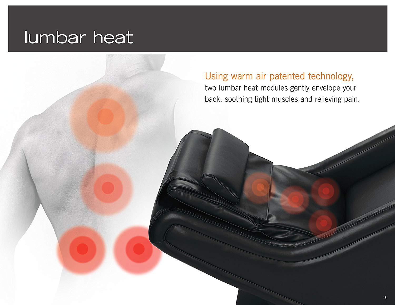 Human Touch ZeroG 5.0 Warm Air