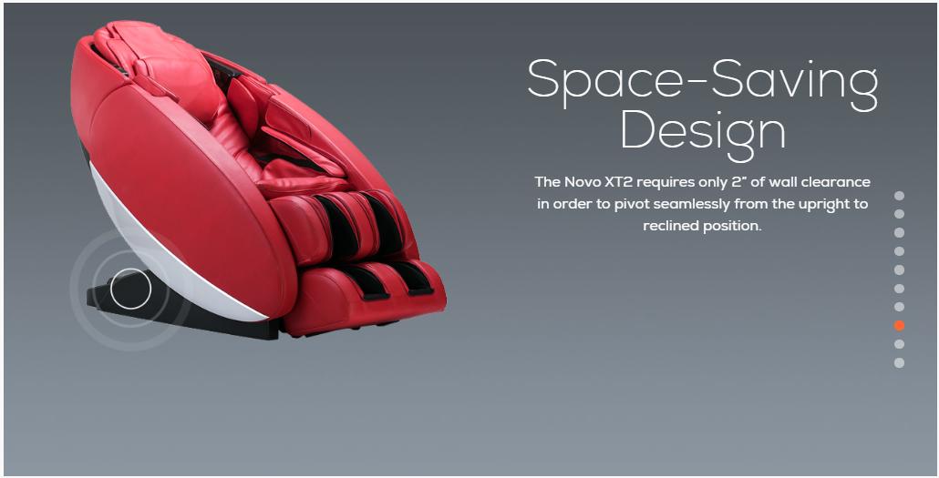 Novo XT2 Space Saving Design