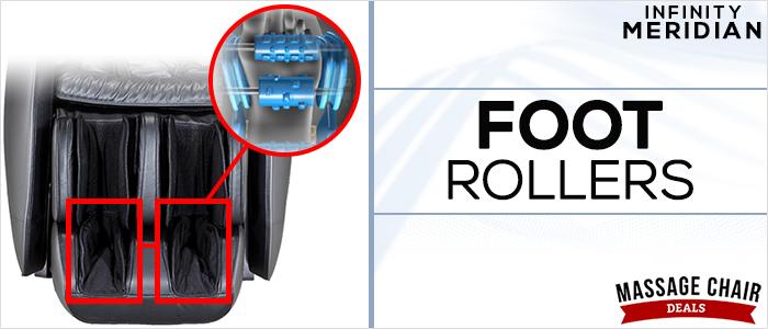 Infinity Meridian Foot Rollers