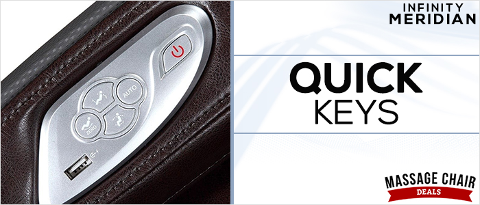 Infinity Meridian Quick Keys Side Panel