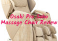 Osaki OS Pro Soho 4D Massage Chair Review