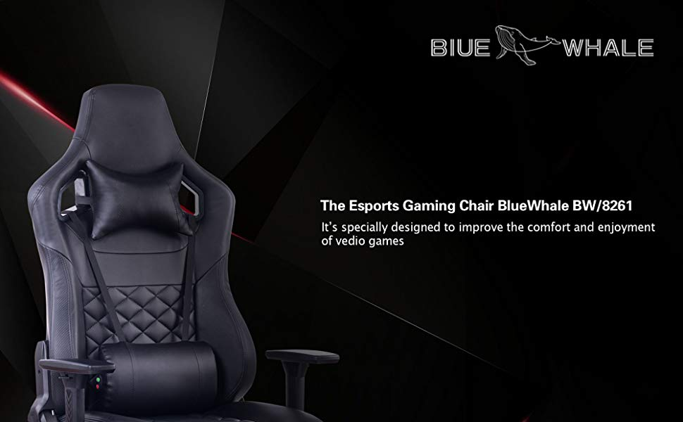 Blue Whale Gaming Massage Chair