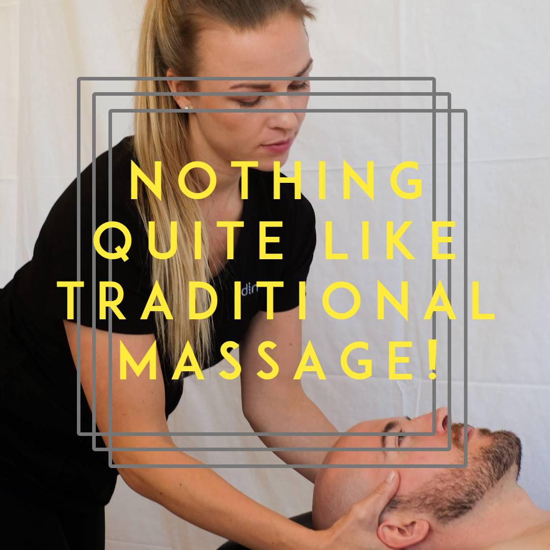 Nothing Quite Like Traditional Massage!