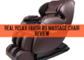 Real Relax Favor 03 Massage Chair Review