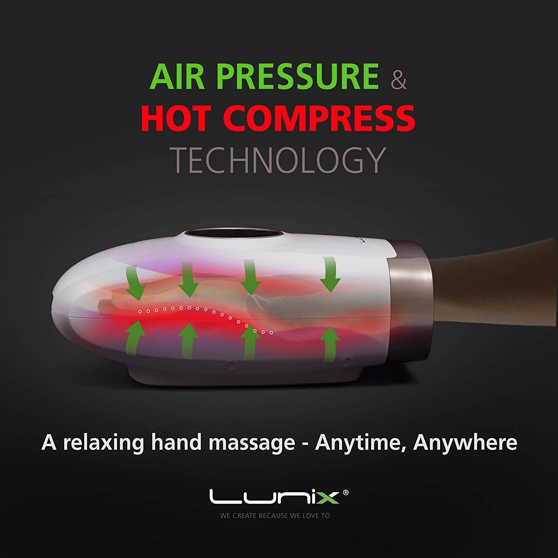 Lunix Electric Hand Massager