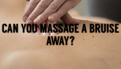 Can You Massage A Bruise Away