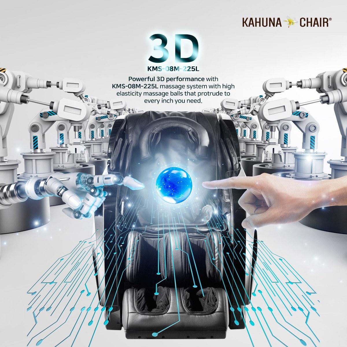 Kahuna Hubot HM-078 3D Rollers