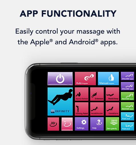 Infinity Genesis Smartphone App Control