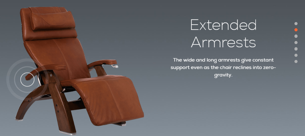 Human Touch PC 420 Extended Armrests