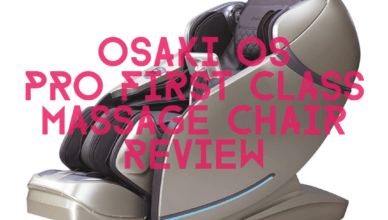 Osaki OS Pro First Class Massage Chair Review