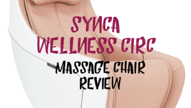 Synca CirC Compact Massage Chair Review