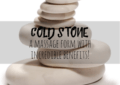 Cold Stone Massage