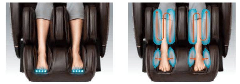 Inner Balance Jin 2.0 Foot Rollers & Airbags