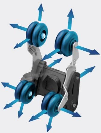 Osaki OS 4D Escape Rollers
