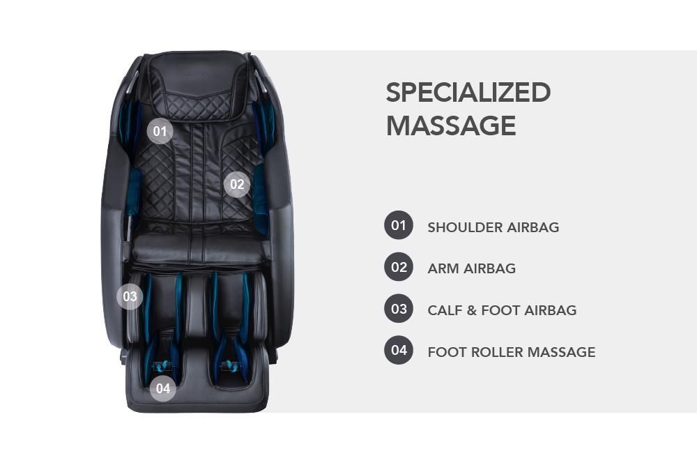 Titan 3D Pro Amamedic Airbags