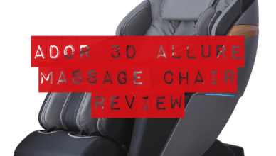 Ador 3D Allure Massage Chair Review