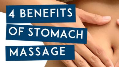 4 Benefits Of Stomach Massage