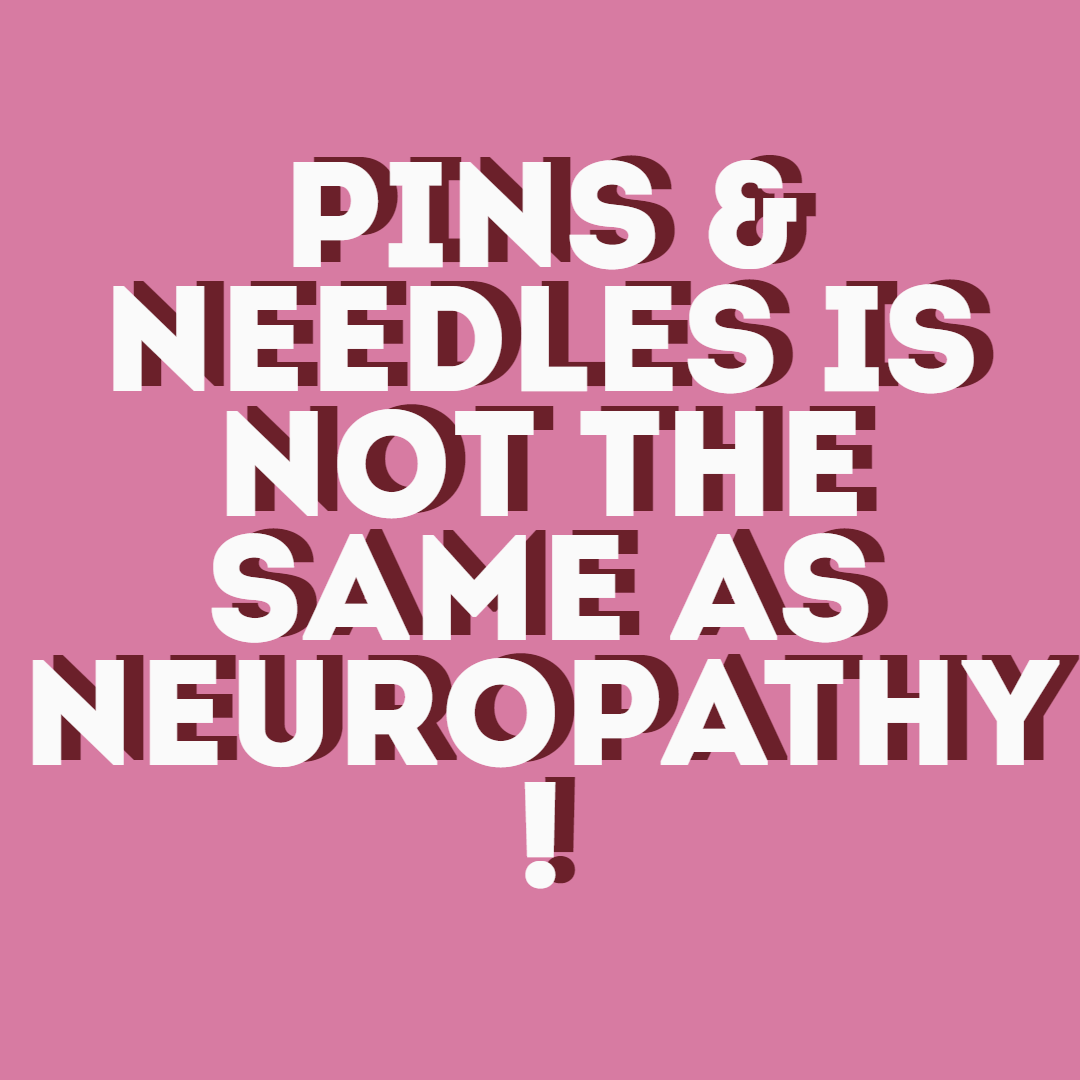 Difference Between Neuropathy Pins Needles