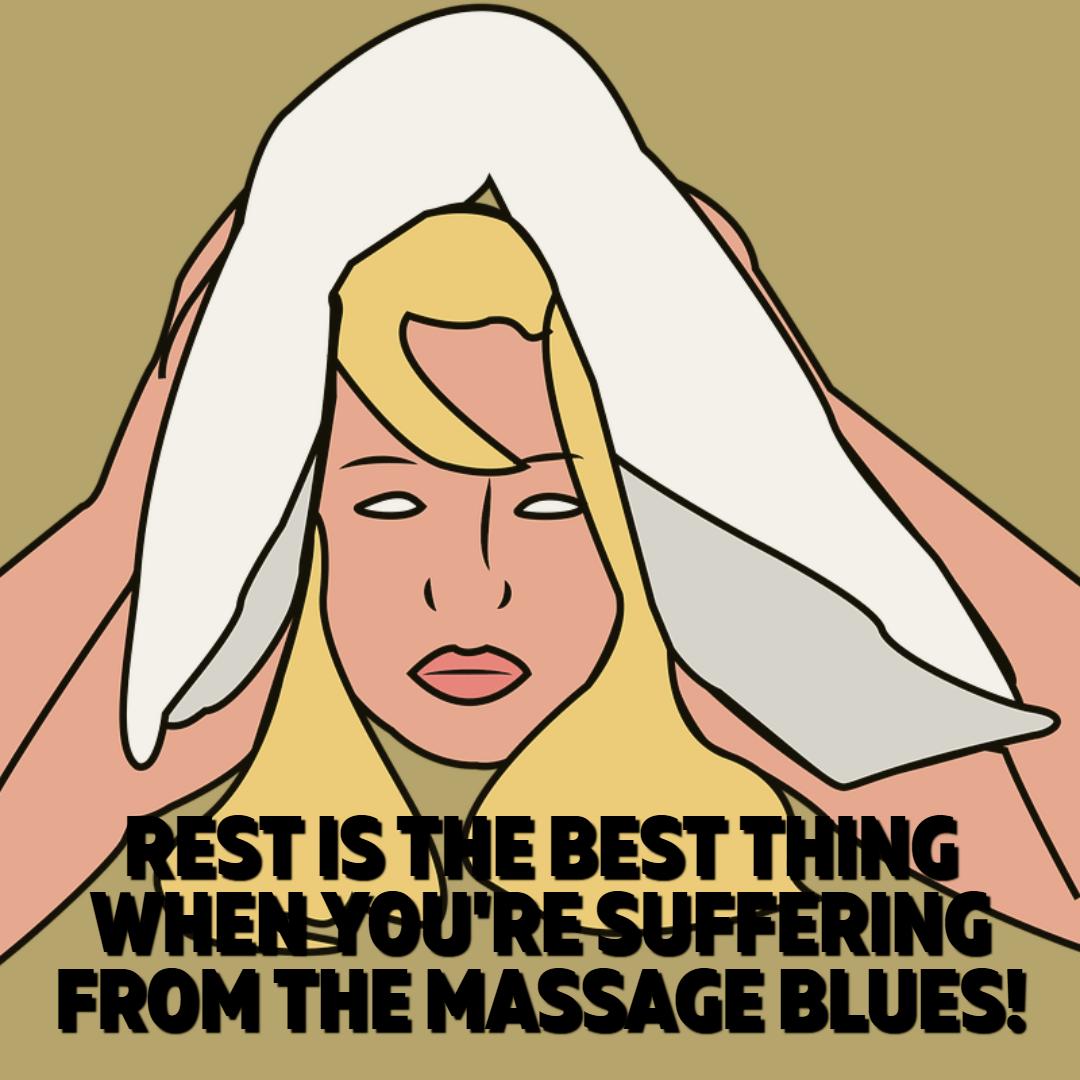Rest After An Intense Massage